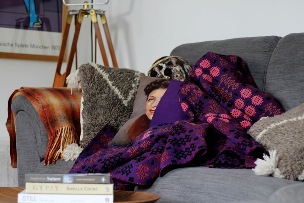A welsh blankets for cosy nights in