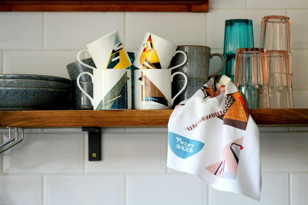 Twenty Birds gifts and homeware by Monica Gabb