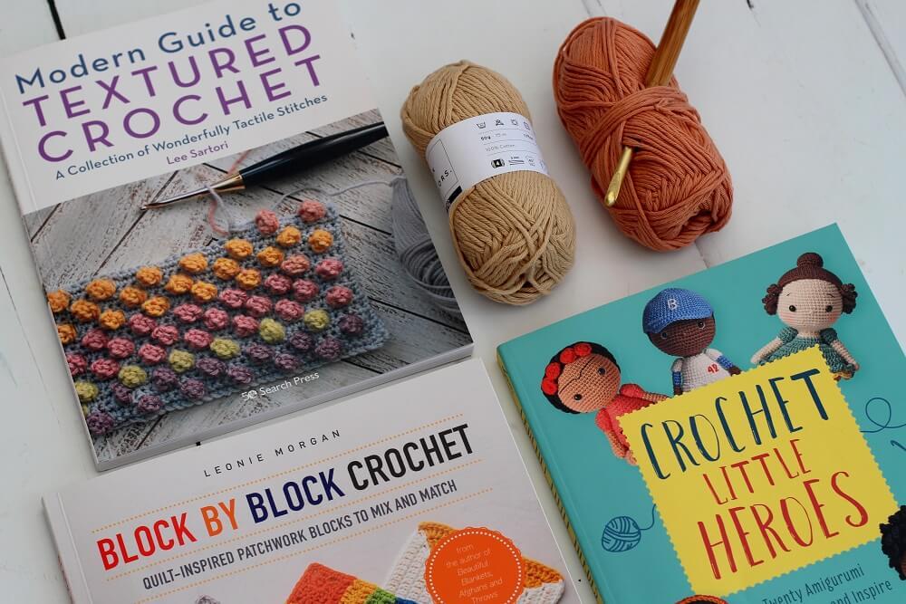 3 new crochet books textured crochet book review
