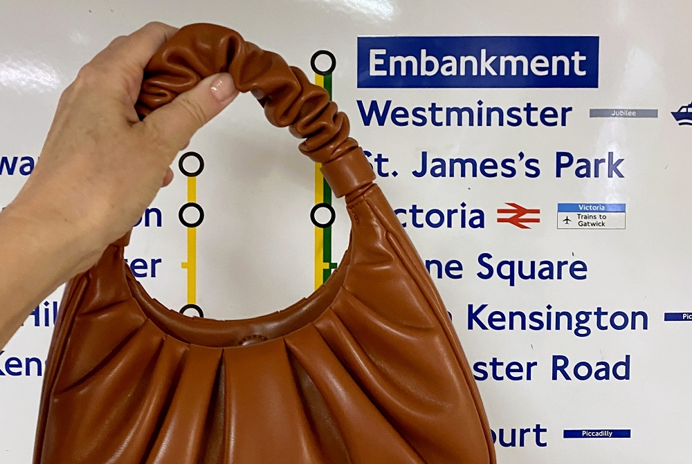 a JW Pei Gabbi bag visits London
