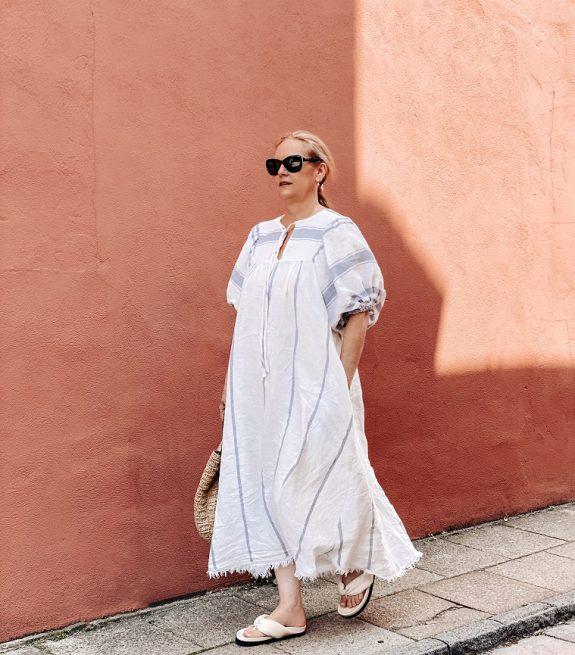 Vali dress by pattern fantastique made by Lazy daisy jones